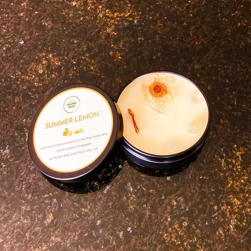 Summer Lemon Pocket candle