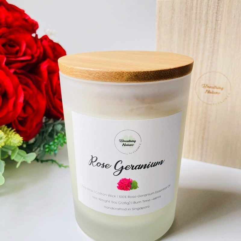 Breathing Nature Rose Geranium